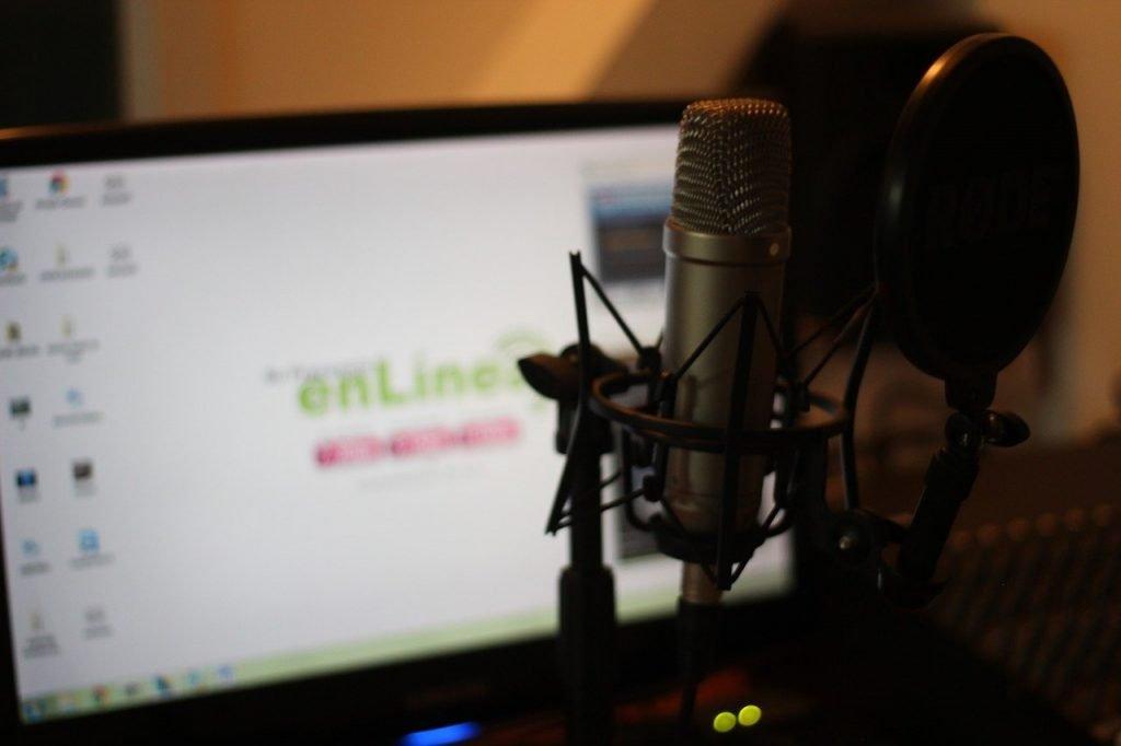 digital marketing, audio, microphone